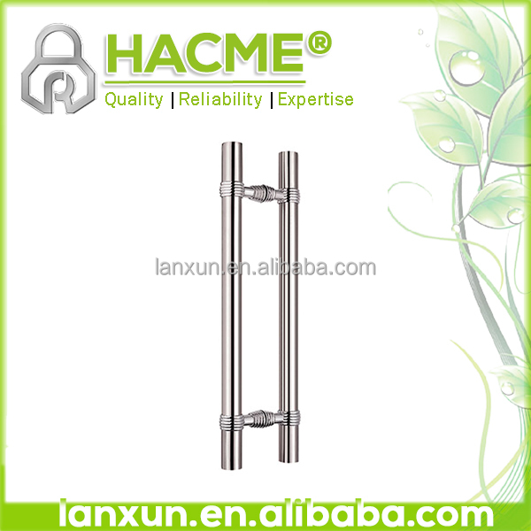 aluminum door handl and lock