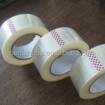 waterproof adhesive single sided bopp packing tape