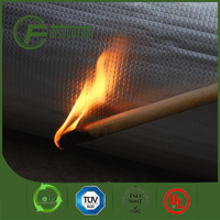 Green Color Fireproof Closed-cell Xpe Foam Alu Foil Thermal Break Insulation