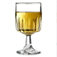 Wholesale Factory Price Wine Glass,Short Stem Engraved Glass wine,Cheap Wine Glass