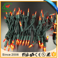 Outdoor decoration waterproof IP65 Christmas M5 led light string