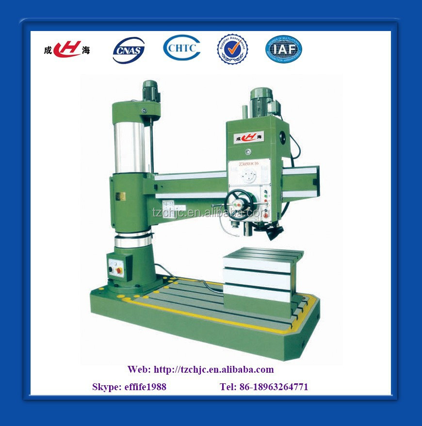 Radial drilling machine with 50mm capacity Z3050*16
