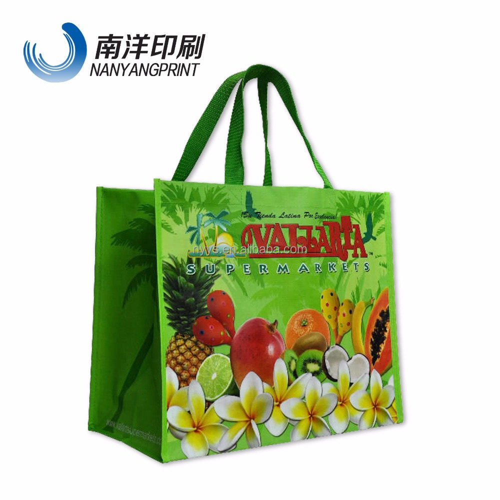 custom print cartton tote bag for kins/t-shirt shopping non-woven bag for kinds /free sample factory price