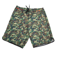 Full Sublimation Design Spandex Polyester Camo Men's Surf Boardshorts