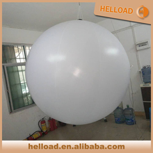 Multi-colors hanging inflatable glowing balloons/ lighting orbs for sale