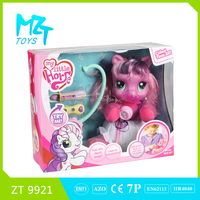 Funny Pony series wadding horse+stethoscope+thermometer toys