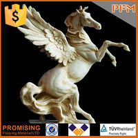 Direct Factory Price Acid-Proof Marble Statue Carved Horse