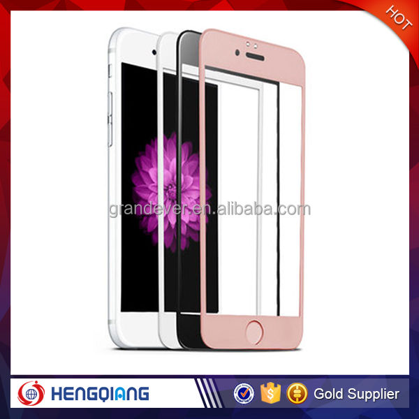 High Transparency tempered glass for iphone 6s, tempered glass screen protector for iphone 6s