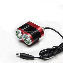 High Power led bike lamp 2xCree XML T6 3-modes 2000LM led bicycle light include battery pack and charger