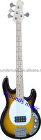 wholesale 4 string Electric bass guitar music man style bass
