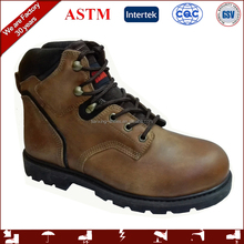 2017 new design quality safety shoes and safety shoes price with rubber outsole