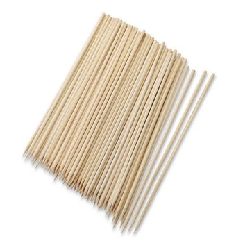4.0mm diameter BBQ disposable bamboo skewer