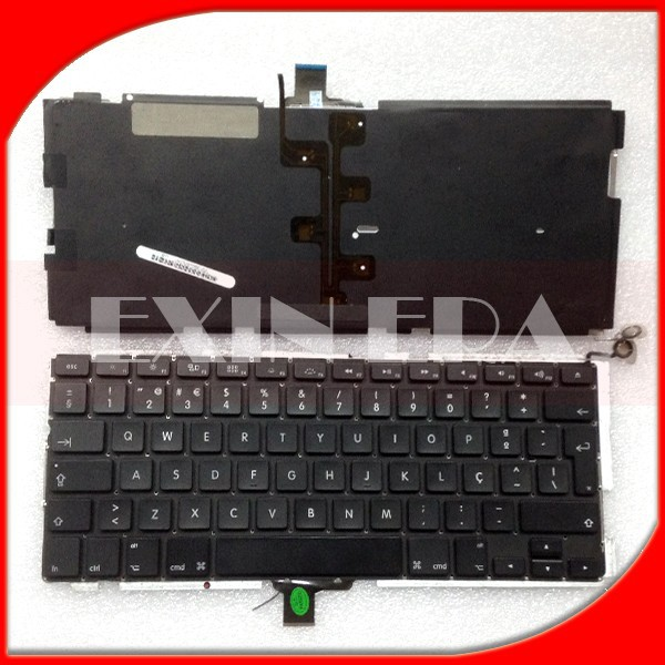 "Genuine for Macbook Pro A1278 13"" Norway Norsk Layout Keyboard & Backlight 2009 2010 2011 2012 Year"