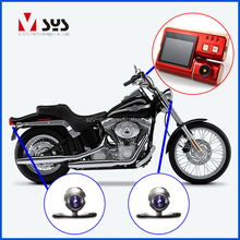 2.0 inch GPS G-sensor dual lens waterproof motorcycle dvr camera With Time Memory Function