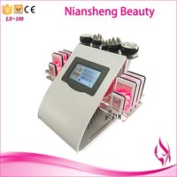 Cavitation machine vacuum rf infrared light roller/fat removal vacuum machine