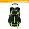 2016 Hot style waterproof nylon student trolley school bag