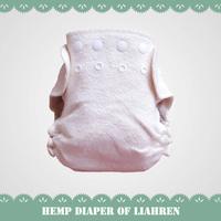 Eco-friendly hemp organic cotton baby cloth diapers, hemp baby cloth nappy