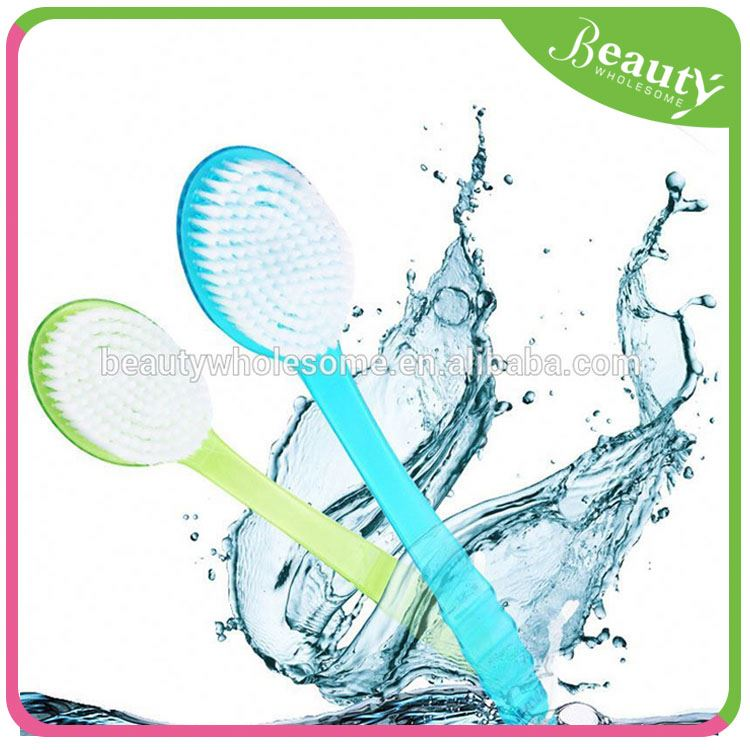body bath brush ,H0T037 bath net sponges with long handle