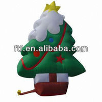 Christmas Tree Inflatable, Made of Strong Oxford Nylon