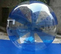 giant bubble inflatable water walking sphere, large balls for kids