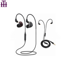 2017 New Earhook AUX Convertible Double model Best Blue tooth earphone Music Headsets Ecouteur Bluetooth Earphones for running