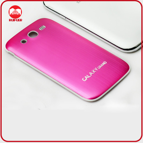 RF Luxury Ultra Thin Rushed Aluminum Metal Battery Case for Samsung Galaxy Grand Duos I9082 I9080