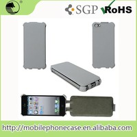 Vertical Style Flip Leather Case for iPhone 4/4s