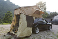 4x4 trailer car roof tent, vans car top tent 3-4 person camper trailer tent