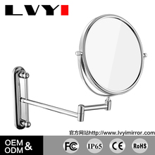 LY-1806 brass bathroom makeup mirror