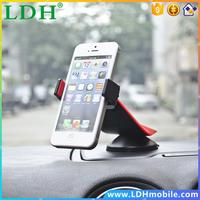 Universal Car Sucker Phone Socket Stand Holder Navigate Case Cover For iPhone 5 6S Plus For Samsung Galaxy S4 S5 S6 360 Rotation