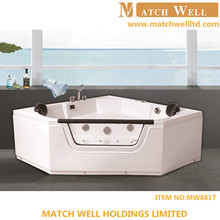 Luxurious Massage Bathtub 2 Person Indoor Sex Bath Tub With Tv
