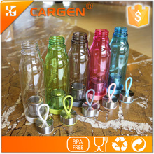 Wholesale gift items 600ml outdoor plastic tea bottle with filter