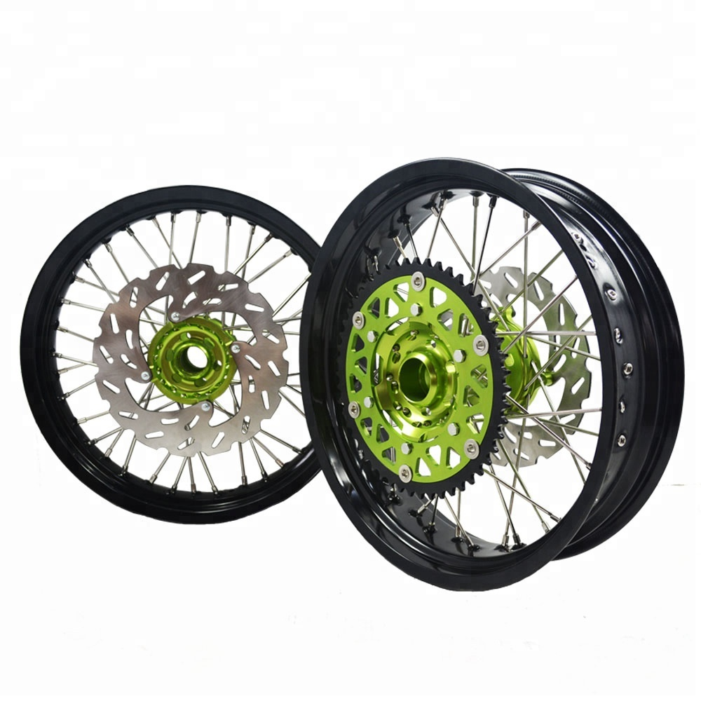 <strong>17</strong> Inch Supermoto Wheel Rims For KXF250 KXF450