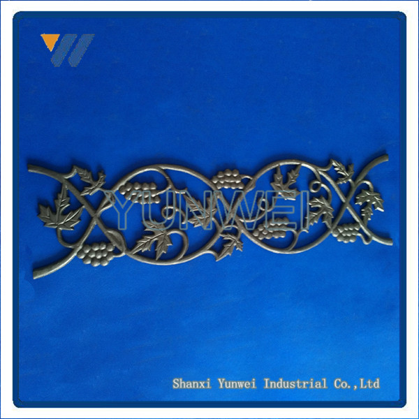 Hot Selling Best Quality Wrought Iron Gate Ornament Accessories Manufacturer