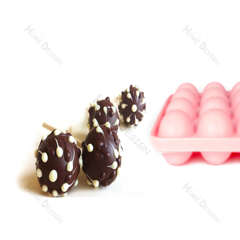 FDA silicone chocolate candy lollipop cake pop mold N070