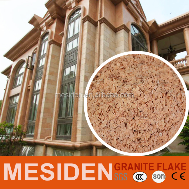 Hot sales Building Material Acrylic Liquid Granite Flake Paint
