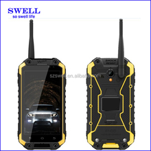made in china 3g IP68 waterproof dual sim card phone cell phone with wireless adapters , walkie talkie with sim card Rugged X8
