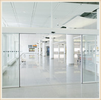 High quality Maxdor office automatic interior glass sliding doors