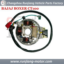MOTORCYCLE MAGNETO STATOR ASSY FOR BAJAJ BOXER CT100