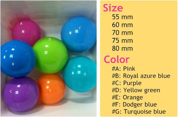 Wholesale plastic ball pit balls for kids
