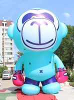 new design gaint inflatable monkey