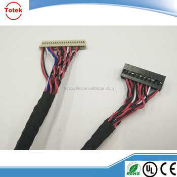 Customized power lvds cable assembly
