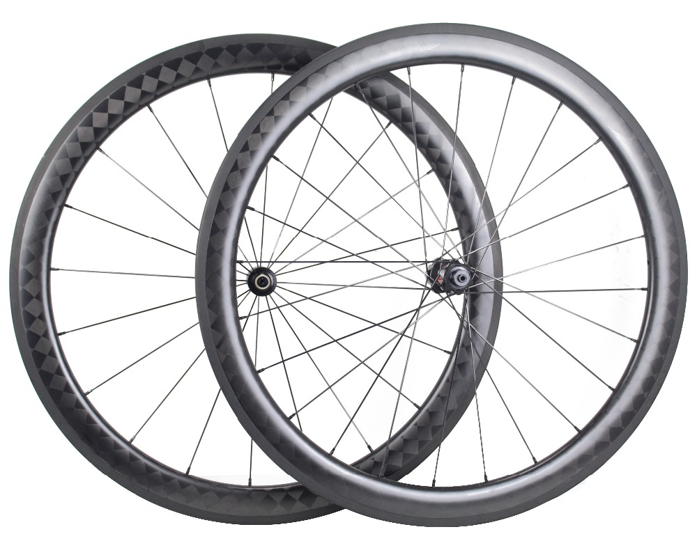 Chinese carbon wheels 700c tubular for sale 18K toray carbon road bike wheels 50mm depth tubular bicycle wheels 20/24H