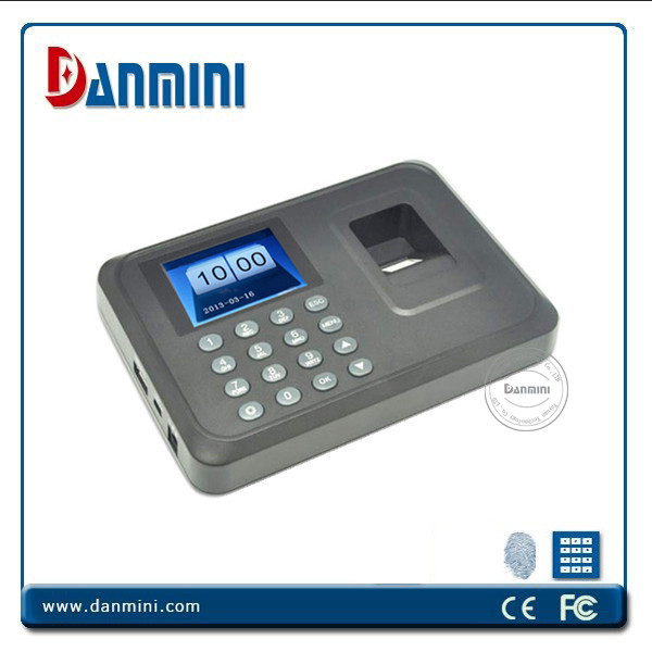 Danmini Standalone Fingerprint Time Recorder A6,Setting Time Recorder machine,easy to operate with U disk Upload/Download