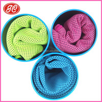 China manufacturer cool ice towel cool sport towel soft textile magic cooling towel