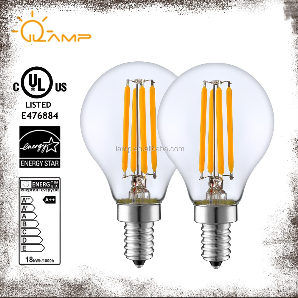 G45 G50 G80 Energy star antique edsion filament e26 led global bulb
