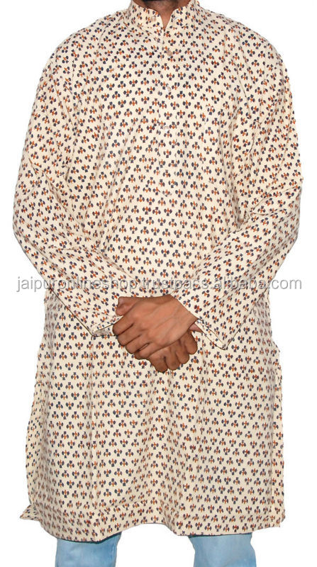 Jaipuri New Fashion Mens Cotton Kurtas India