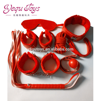 Factory price soft SM sex toys Leather bondage toys sex adult