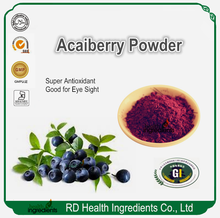 Bulk Free Sample GMP factory supplier Dried Acai berry powder