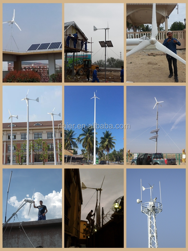 horizontal 2kw wind turbine generator new design